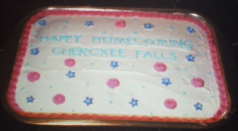 Cherokee Falls Homecoming Cake by Sakura-Courage-Solo