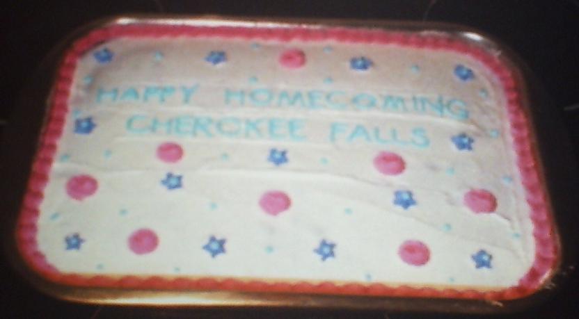 Cherokee Falls Homecoming Cake by Sakura-Courage-Solo