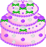 Pixel Art Cake 001 by Sakura-Courage-Solo