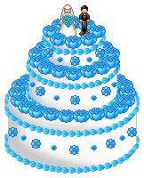 Pixel Art Wedding Cake : Wedding Cake for BBC3 by Sakura-Courage-Solo on DeviantArt