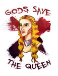 Gods save the queen