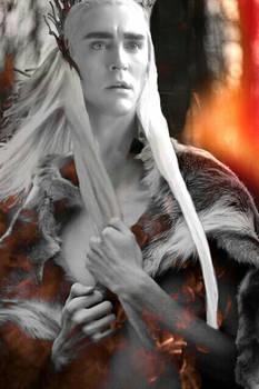 The Dragon Fire--(Thranduil)