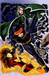 X-Men Cover color