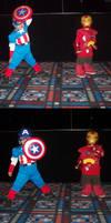 Comicpalooza's Cutest Heroes by Merides