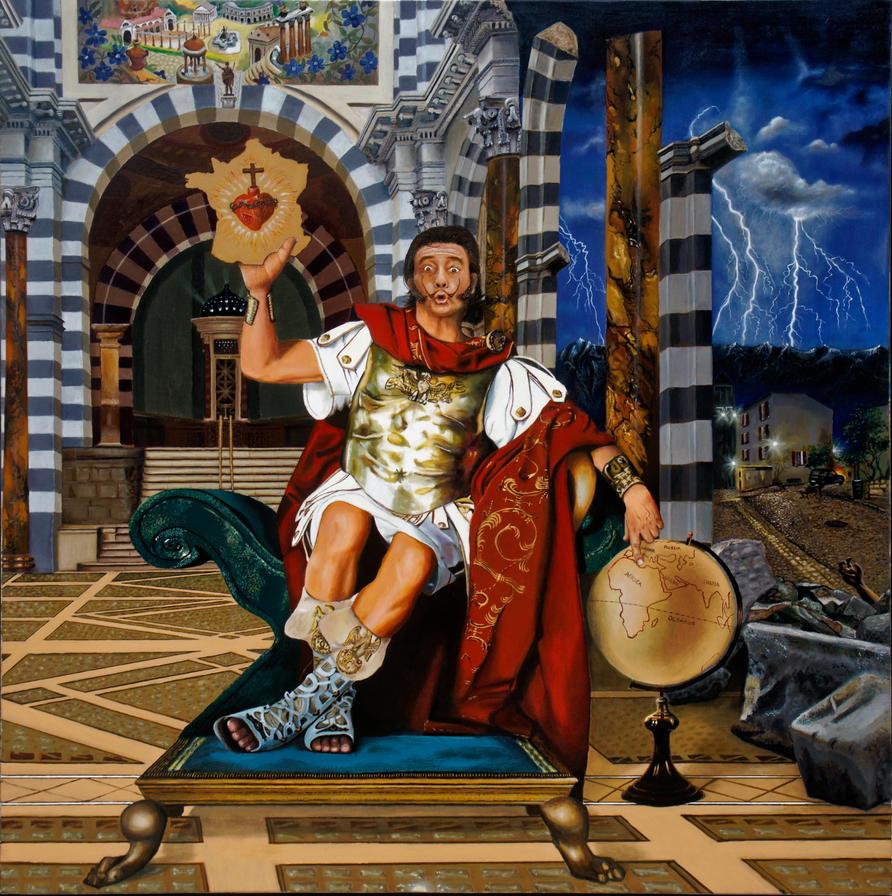 Painting Oil . 34eme toile de mon cru. by CONRAD-COEURMIT