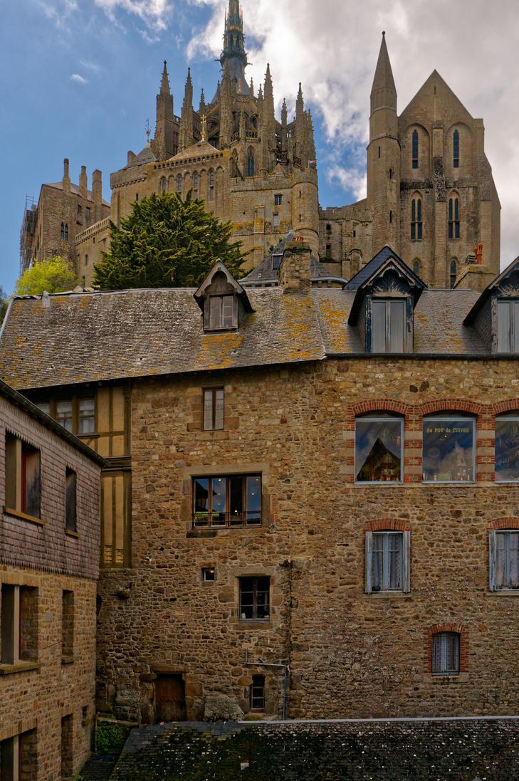 Mont Saint Michel by CONRAD-COEURMIT