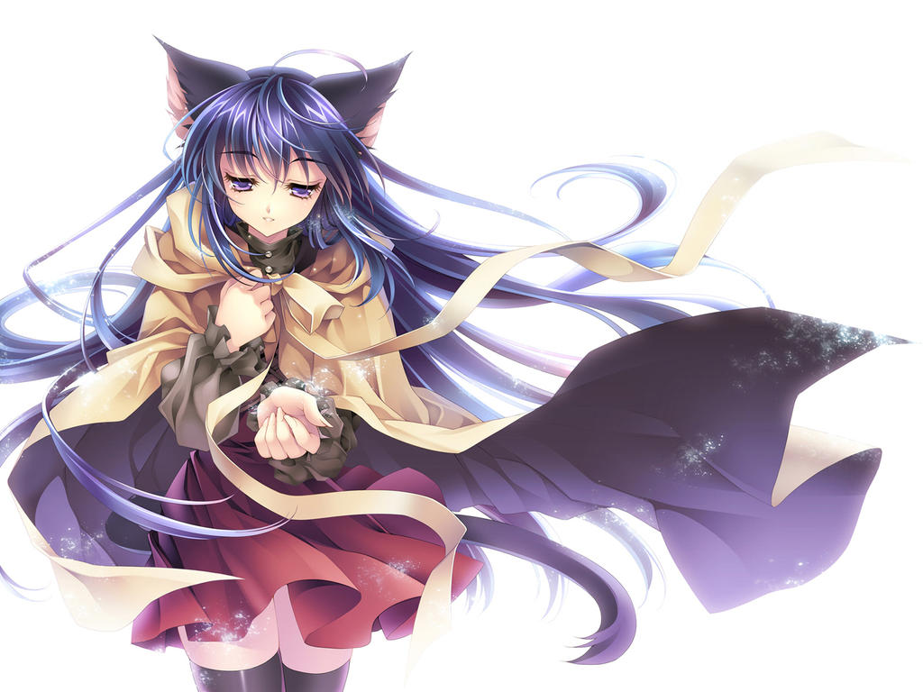 Anyone want a complex roleplay to help writer 39 s block - Anime kitty girl ...