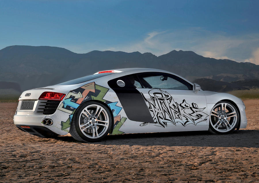Audi R8 Graffiti By TecArtist ...