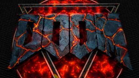 Doom Lava Render Wallpaper