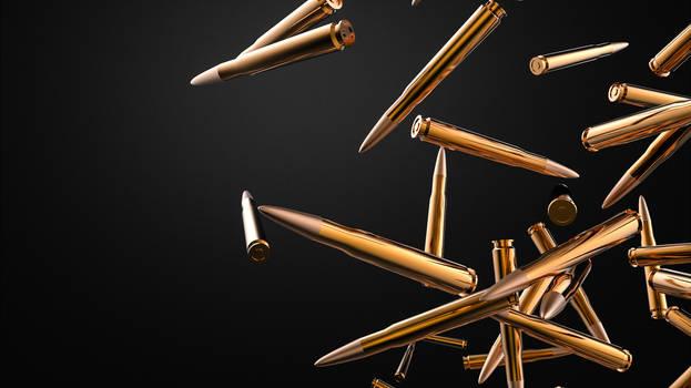 Bullets Fall Wallpaper