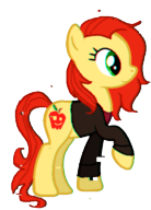 Pony!Amy Pond by RadioactiveLilly