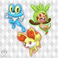 Pokemon Starter - Gen VI