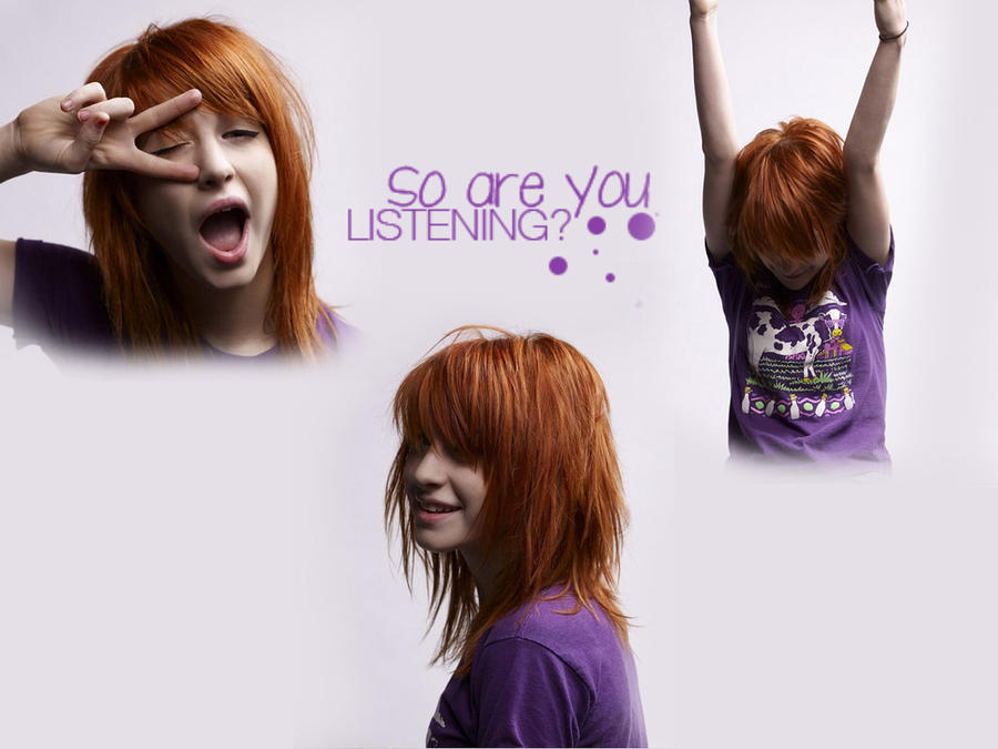 hayley williams wallpaper 2010. Hayley Williams Wallpaper 2 by