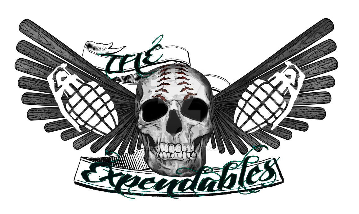Expendables logo by dZillab on DeviantArt