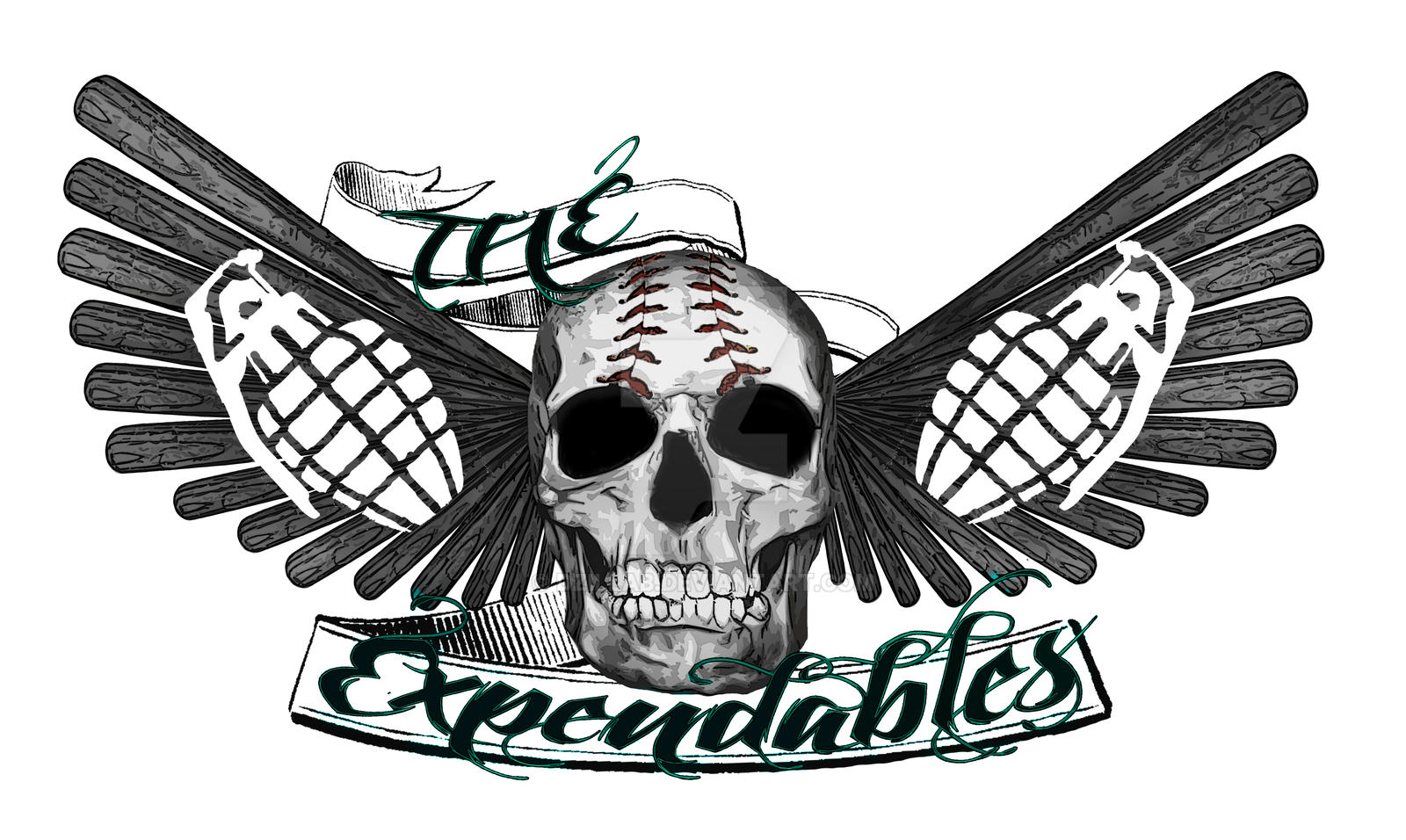 The Expendables Logo