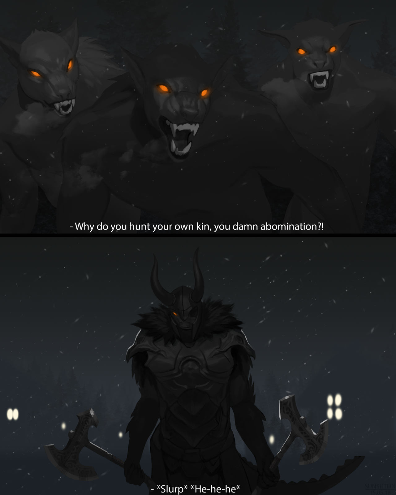 Kin to no Wolf by Rines-Sha