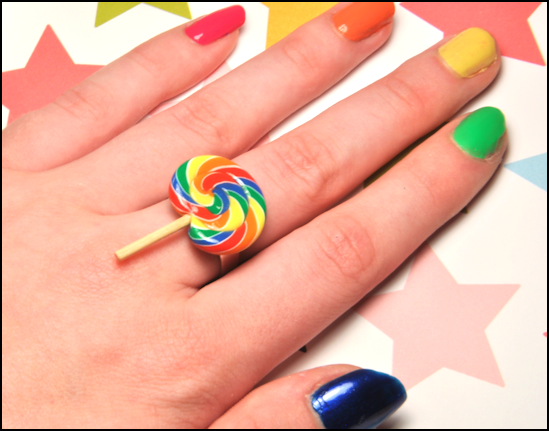 Scented Classic Lollipop Ring by rottingteeth