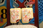 Strawberry Poptart Earrings