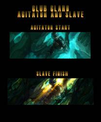 Slave and Agitator Collab   TMNT