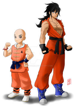 Krillin and Yamcha 23th Tournament redesign