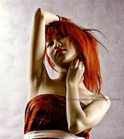 Red Hair girl by Chanmomo