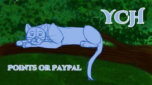 [OPEN] YCH Tree Cat $5