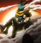 Deku and Yo Shindo - Boku no Hero Academia 307