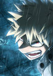 Bakugou Re draw - Boku no Hero Academia 320 by VicSte128