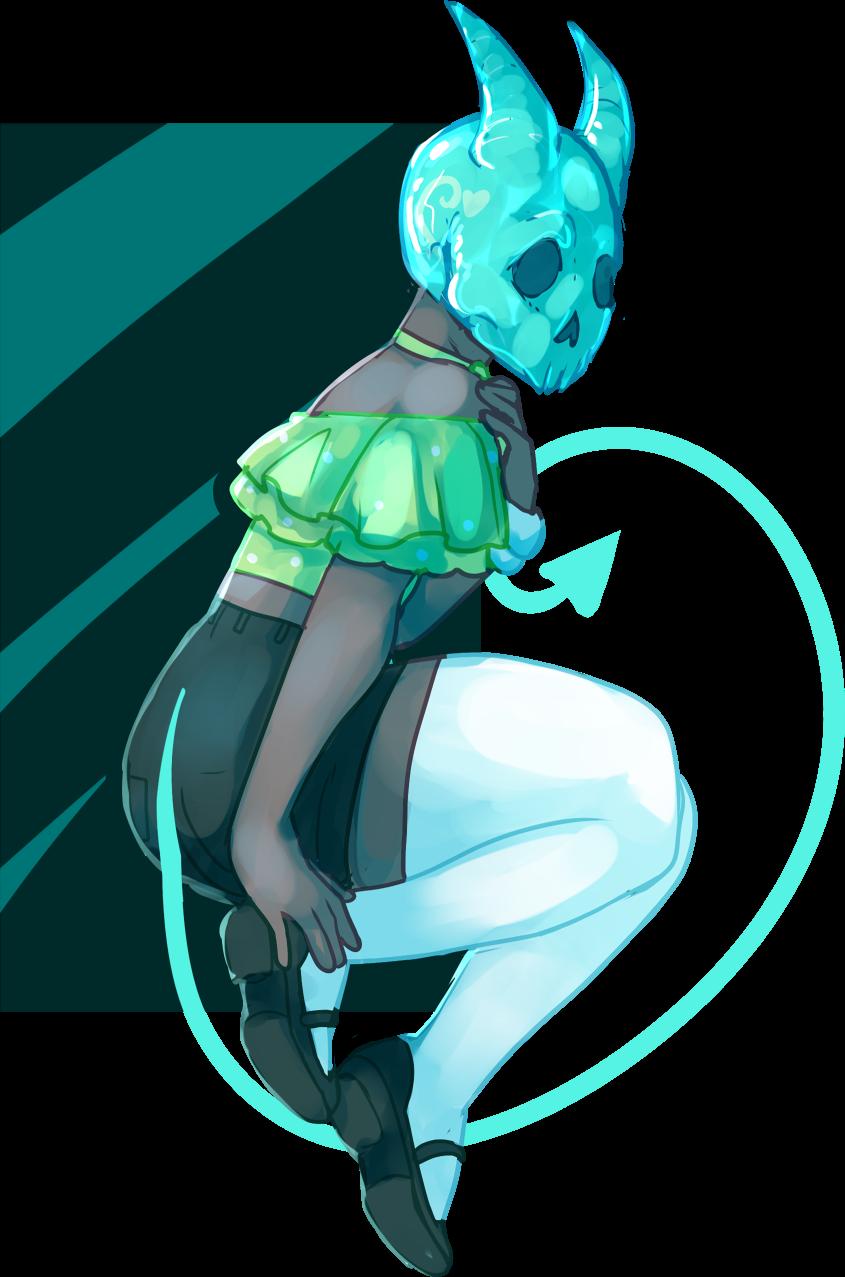 YCH! Crystal Skull by Death2Eden