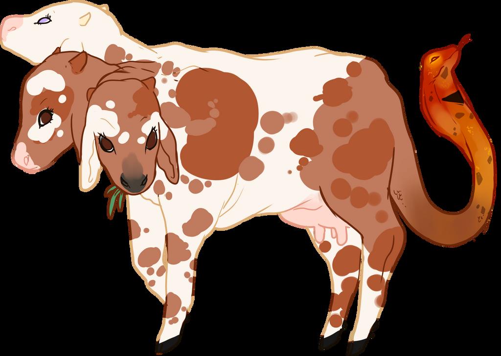 Custom! Hiss Cow by Death2Eden