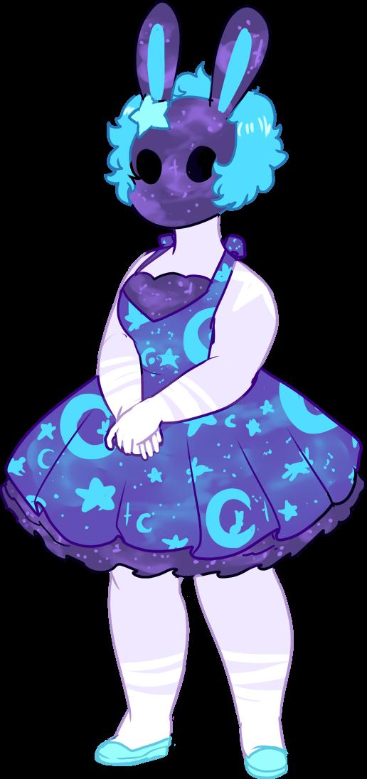 Custom! Moon Rabbit by Death2Eden