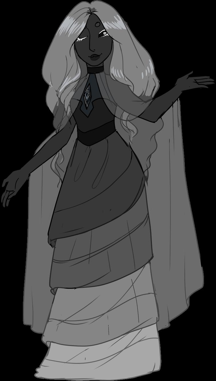 Custom! Lady in Grey by Death2Eden