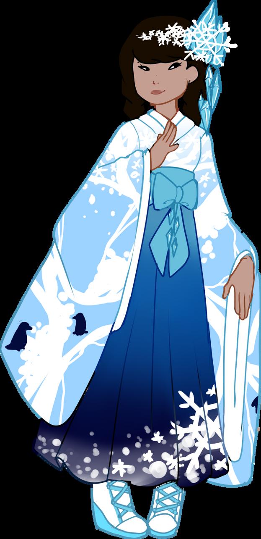 Custom! Antarctic Furisode by Death2Eden