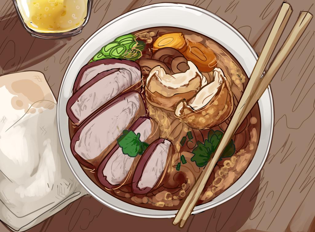 Noodle Joint by Death2Eden