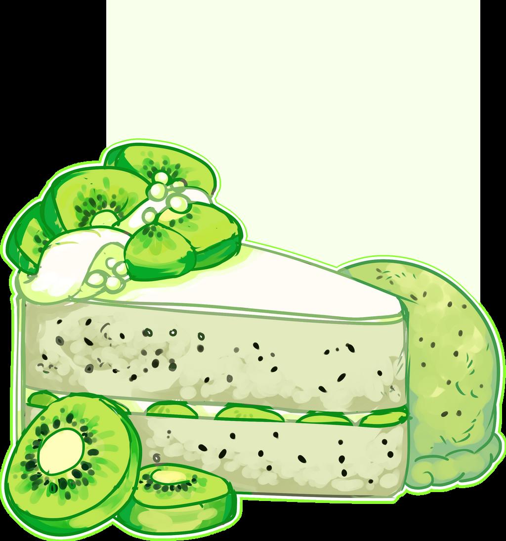 Kiwi Cake by Death2Eden