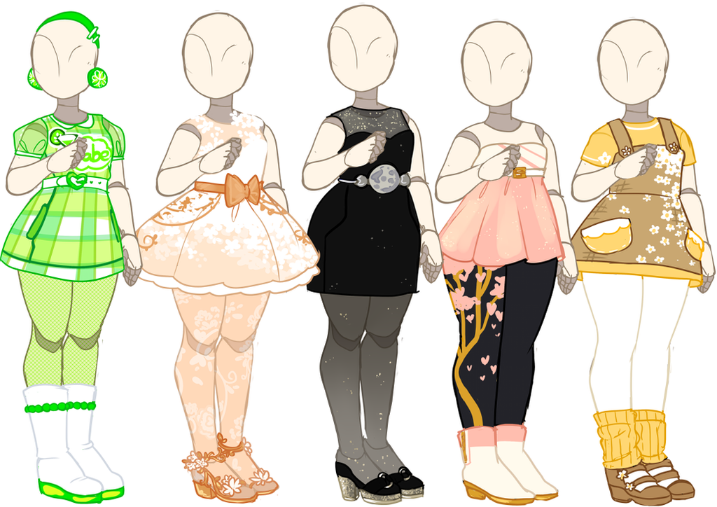 Outfit Adopts [OPEN] by Death2Eden