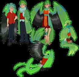 Custom! Emerald Wings