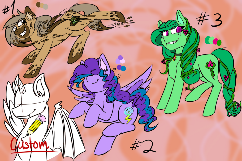 MLP Adoptables #1 by invadersxix614