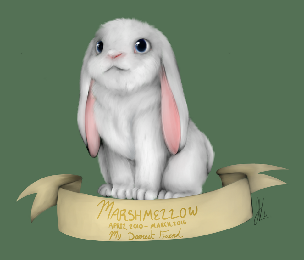 Marshmellow Rabbit by invadersxix614