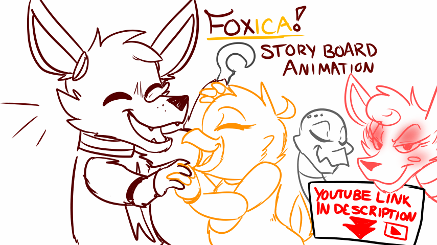 Foxica Animation (storyboards) by invadersxix614