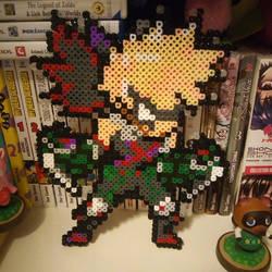Bakugou perler by kaydenpixels