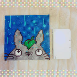 Tonari no Totoro perler by kaydenpixels