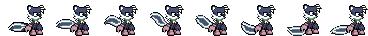 Sonic Battle: Geoffrey St. John (Sprites WIP) by musiccreator48
