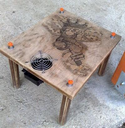 how to build a hookah table