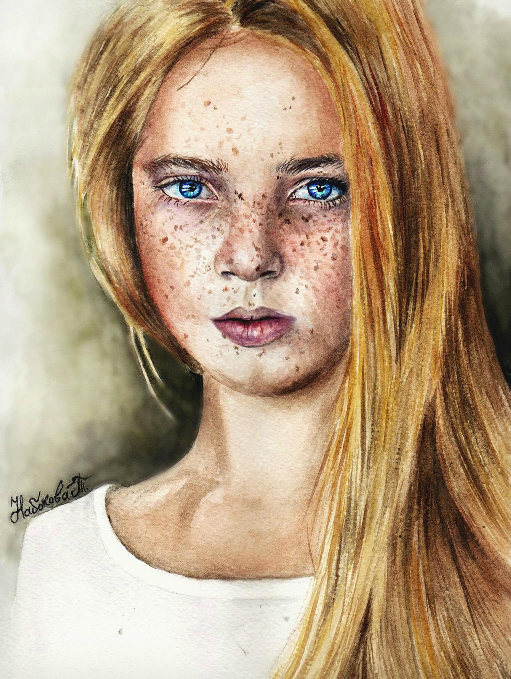 Beautiful eyes by Genius-TanyaZ