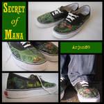 Secret of Mana shoes