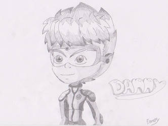 Danny Monster Buster Club by Fampy26