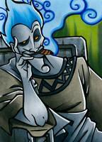 card No. 32 - Hades by NOOdElARtS
