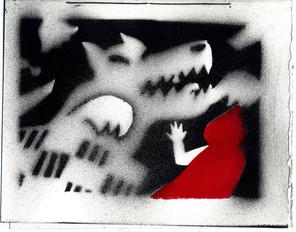 Little Red Riding Hood, p5 by sebamoya1