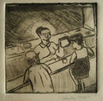 Untitled, Diner dry point